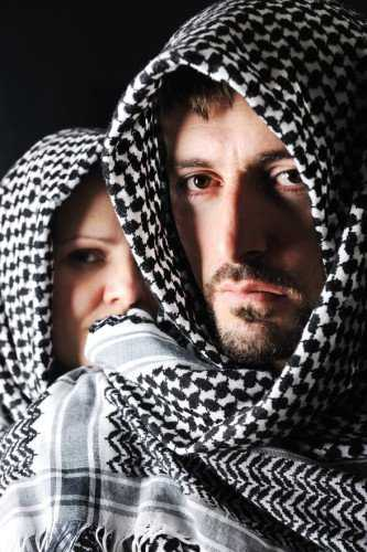 kozzi 2310513 man with arabic palestinian colors 588x884 - Understanding the Muslim Faith and ISIS