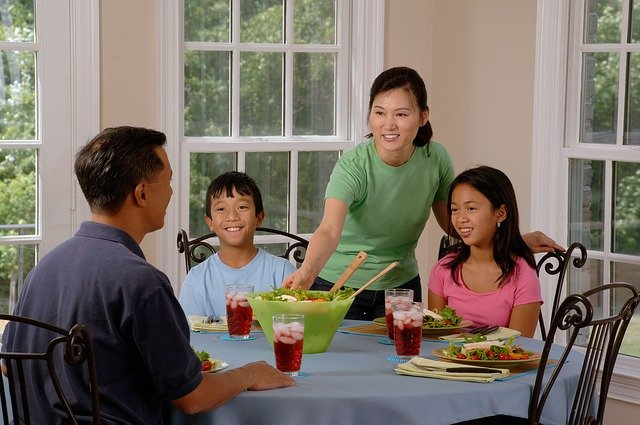 family eating at the table 619142 640 - How Do I... Provide Proper Nutrition For My Kids In A Processed World?