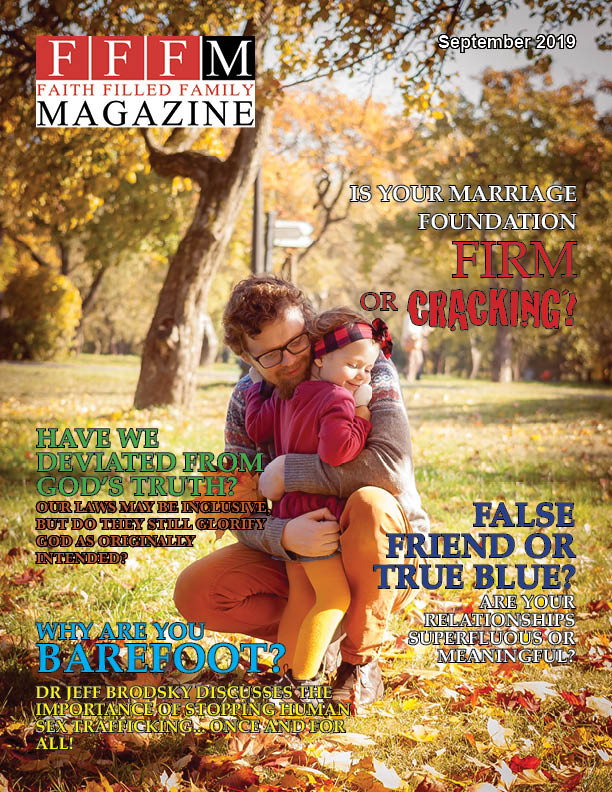 September 2019 FP - Faith Filled Family Helping Families Live Victoriously In Christ